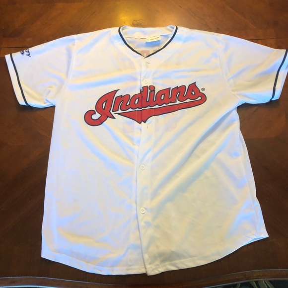 detailed look 43720 ce3eb Francisco Lindor Cleveland Indians Jersey
